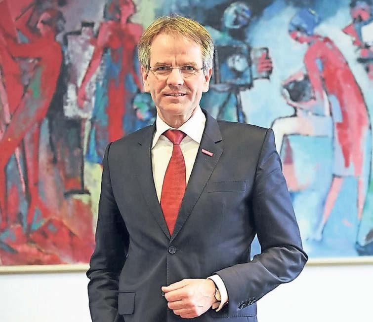 Andreas Ehlert ist seit 2014 Präsident der Handwerkskammer Düsseldorf. Foto: Heike Herbertz